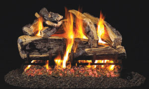 Realfyre - Charred Rugged Split Oak